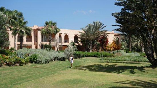 Tikida Golf Palace : Vue est de l'hotel