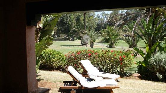 Tikida Golf Palace: vue de la chambre