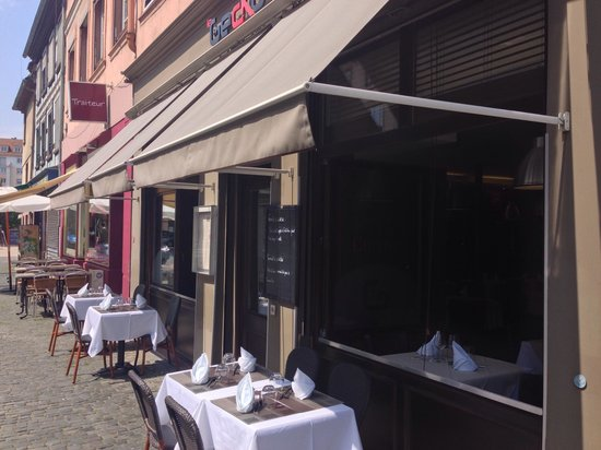 Terrasse Restaurant Strasbourg : Terrasse Picture of Le Gecko, Strasbourg TripAdvisor