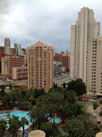 Melia Benidorm : view from 7th floor balcony.