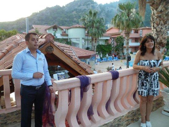 Turquoise Hotel : Al a Carte staff