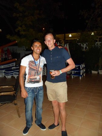 Turquoise Hotel : Me and Ronaldo