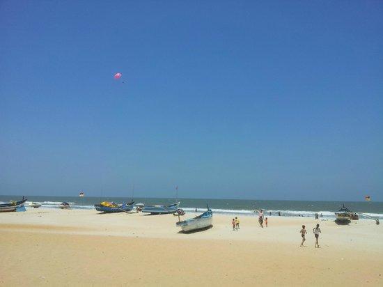 Benaulim Beach: Beach 1