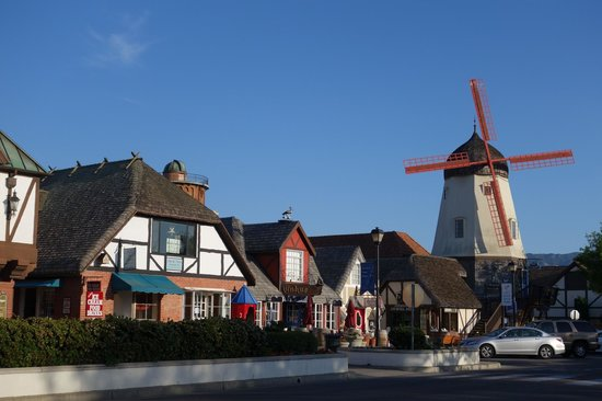 Svendsgaard's Lodge - Americas Best Value Inn: resque Solvang - wish we'd had longer to spend here and explore