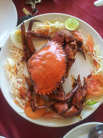 Benaulim Beach: Johncys restaurant on the beach