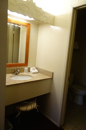 Svendsgaard's Lodge - Americas Best Value Inn: separate dressing area - loved it
