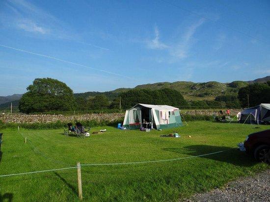 Fisherground Campsite: Beautiful day in the hills