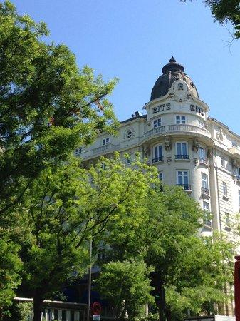 Hotel Ritz, Madrid: Aussenansicht