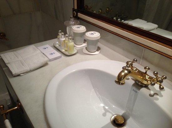 Hotel Ritz, Madrid: Badezimmer