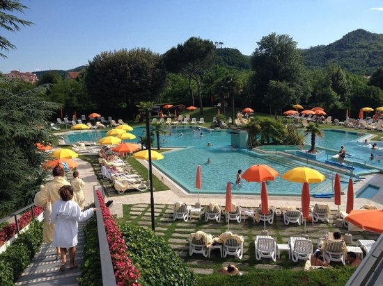 Hotel Garden Terme : La piscina esterna