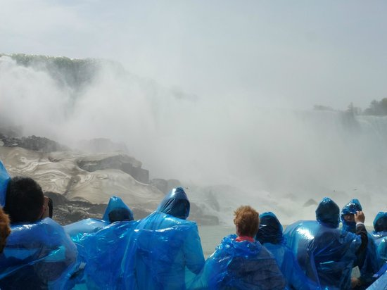 Maid of the Mist: ... even wetter