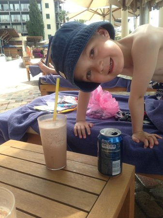 Columbia Beach Resort Pissouri : Cold Hot Chocolates are a must !
