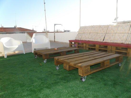 Loule Coreto Hostel: Lounge