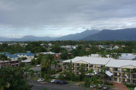 Holiday Inn Cairns Harbourside: view from room