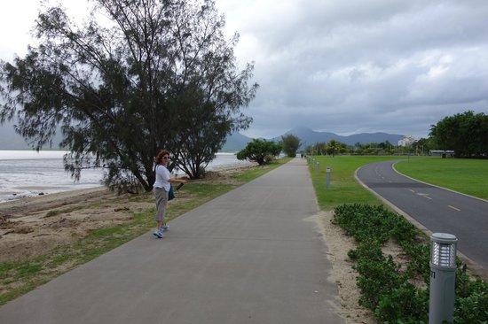 Holiday Inn Cairns Harbourside : foreshore, walk along bay