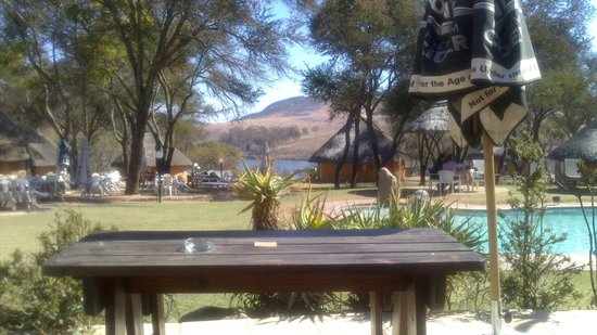 Heia Safari Ranch: View from the restaurant
