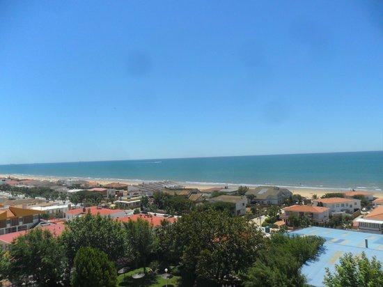 Hotel Pato Amarillo: Aire del Atlántico directo a la habitación.