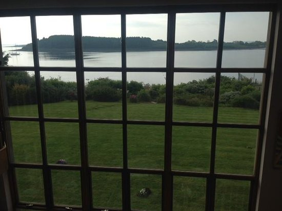 Hunters Lodge Luxury B&B: View from dining table