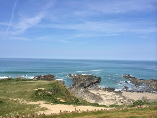 The Headland Hotel & Spa - Newquay: View from my room