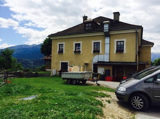 Planotzenhof : casa colonica attigua al ristorante