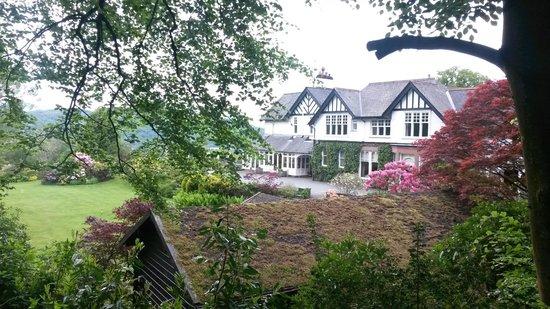 Linthwaite House: Front of Linthwaite Hotel