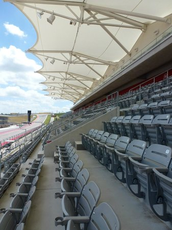 Circuit of The Americas: Grand stand