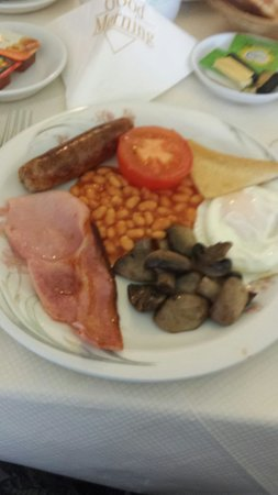 Quorn Lodge Hotel: Full English breakfast very nice.