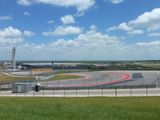 Circuit of The Americas: View from first corner