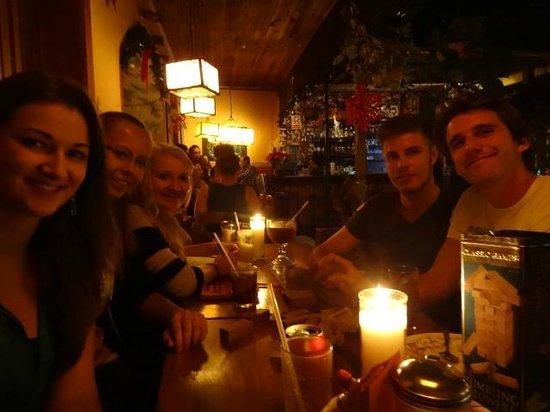 Rainbow Cafe: one of many nights