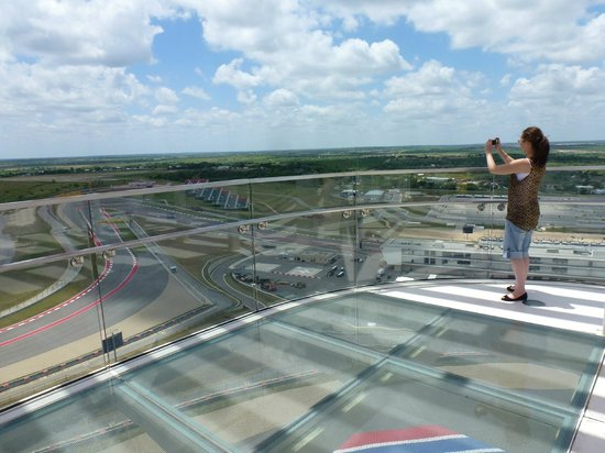 Circuit of The Americas: At the top of the tower - great view