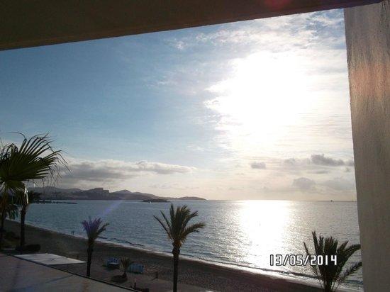 Hotel Garbi Ibiza & Spa: Ausblick vom Balkon