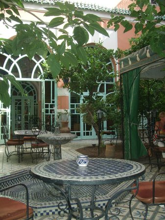 Riad Catalina: The lovely courtyard