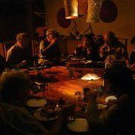 Miombo Safari Camp: lovely candlelit dinner
