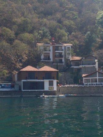 Atitlan Villas: Hotel from Lake Atitlan