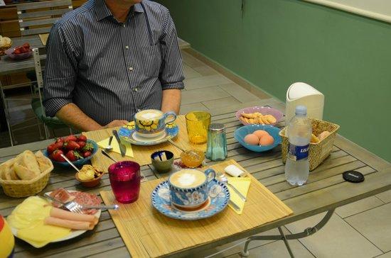 B&B Piazza Dante : Het uitgebreide ontbijt
