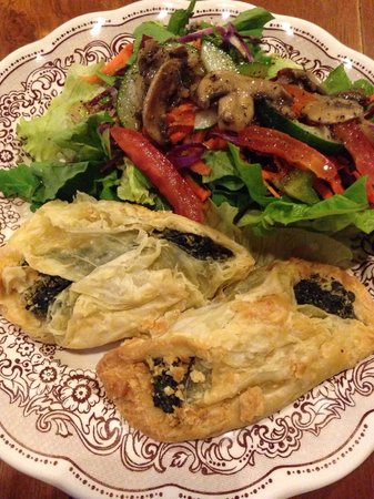 Kreol Kitchen: Spinach and feta borek with salad