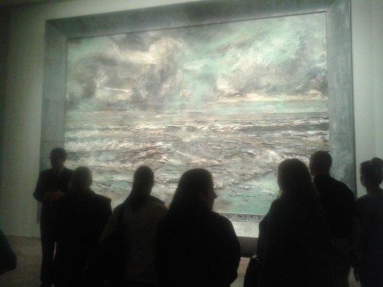 Albright-Knox Art Gallery: Pondering the wonderful seascape
