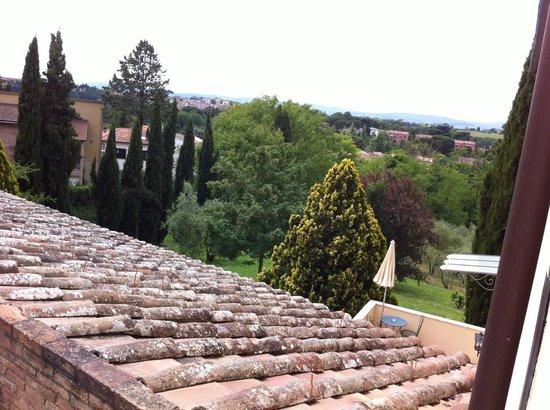 Villa Scacciapensieri: The Tuscan hills