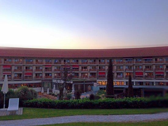 Hotel & Spa Der Steirerhof: Abendstimmung im Steirerhof.