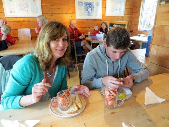 Anchor Stone Cafe: prawns again x