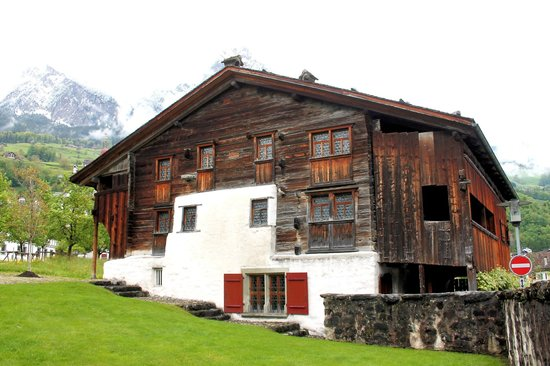 Ital Reding Estate: Bethlehem Haus, on the grounds, is the oldest in Switzerland,