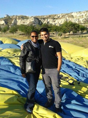 Kapadokya Balloons: Deniz & I