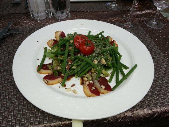 Auberge de la Goutte D Or : Salade de Magret