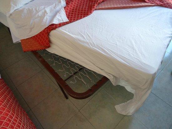 Hotel Cortorillo: matelas