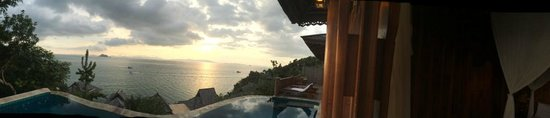 Santhiya Koh Yao Yai Resort & Spa : Lookout towards Phuket from Villa Deck