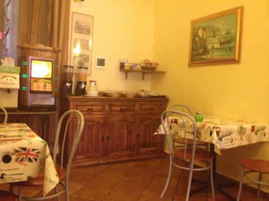 Hotel Cortorillo: salle de petit déjeuner