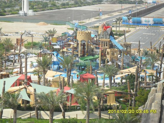 Yas Waterworld Abu Dhabi: вид