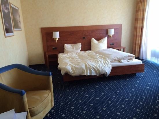 Wisser's Hotel: Stor och luftig rum