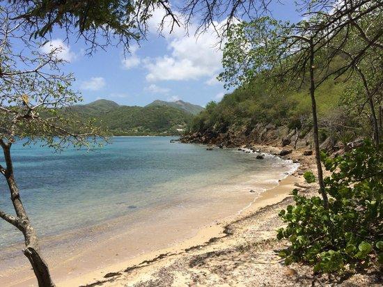 Carlisle Bay Antigua : Beach around the corner