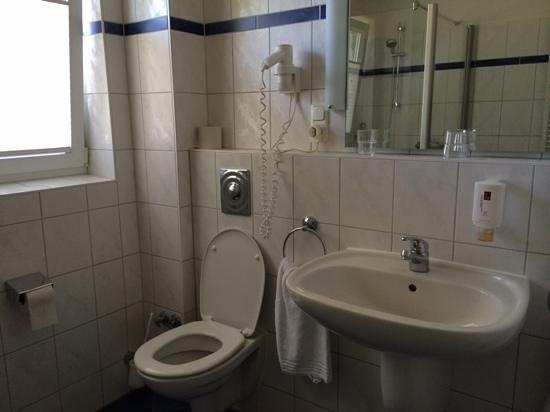 Wisser's Hotel: Bekväma badrum